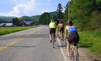 Cycling Groups stay in Stowe Vermont