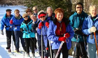 Cross Country Ski Groups, Stowe Vermont