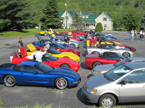 Corvette Weekend at the Commodores Inn